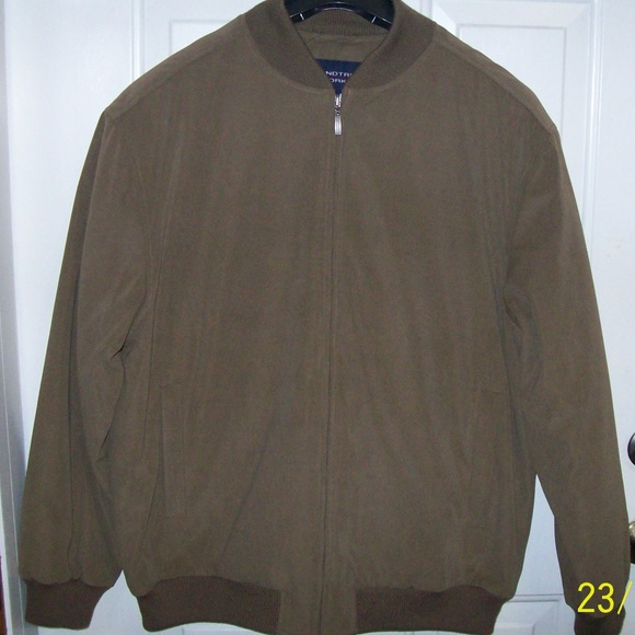 efc15cc85 Roundtree & Yorke Big Tall Brown Jacket Coat 2XT NWT